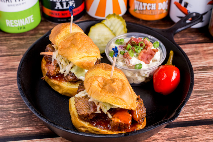Mama's Burnt End Sliders