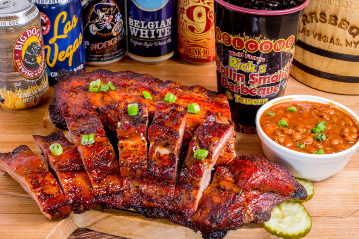 Full Rack Baby Back Ribs Combo